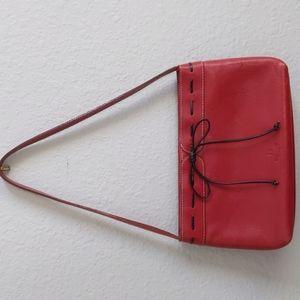 Vintage Kate Spade Red Leather Mini Bag